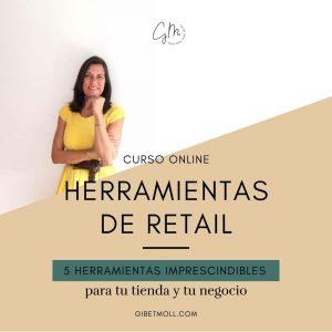 Gibet Moll curso herramientas de retail tienda vender